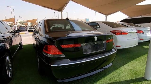 BMW 745Li - BLACK - 2005