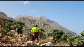 Escursionista ferita soccorsa nella Riserva naturale orientata dello Zingaro