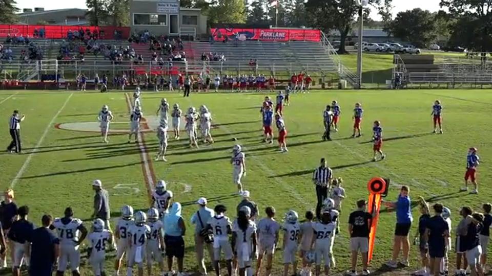 B Team Football vs Parklane Academy - 09-23-21