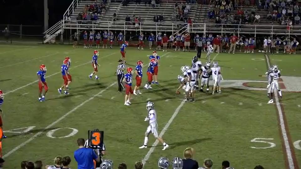 JV Football vs Parklane Academy - 09-23-21