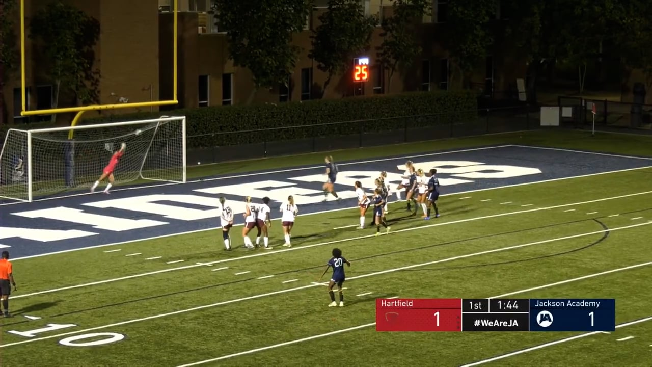 Varsity Girls Soccer vs Hartfield - 09-23-21