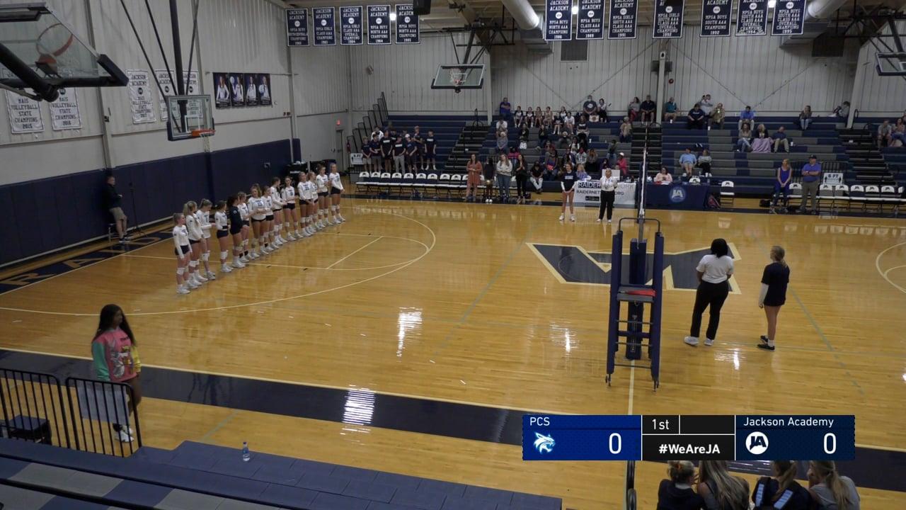 Varsity Volleyball vs PCS - 09-14-21