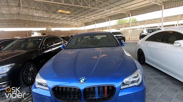 BMW M5 - BLUE - 2016