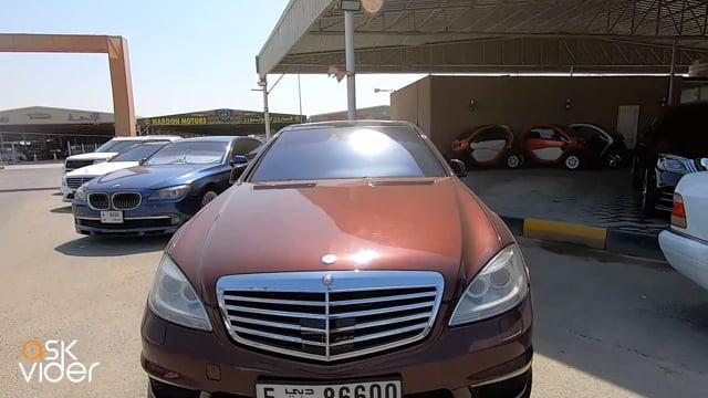 MERCEDES-BENZ S65 - BURGUNDY - 2006