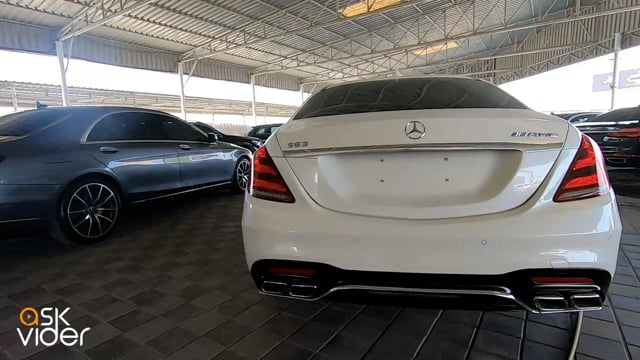 MERCEDES-BENZ S63 - WHITE - 2014 * WITH S400L BODY KIT