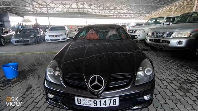 MERCEDES-BENZ CLK 350 - BLACK - 2006