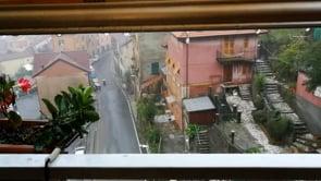 Forti temporali nel Genovese, le immagini da Torriglia