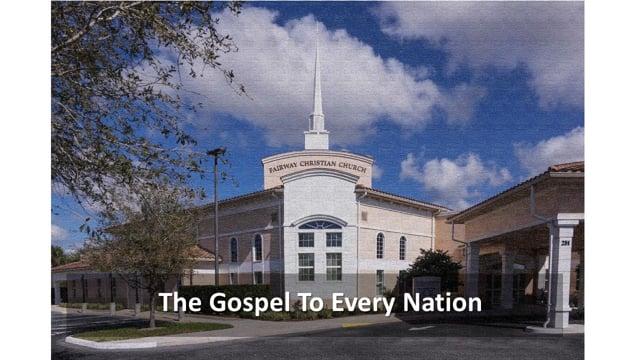 9-26-2021 Sunday Contemporary Worship Service