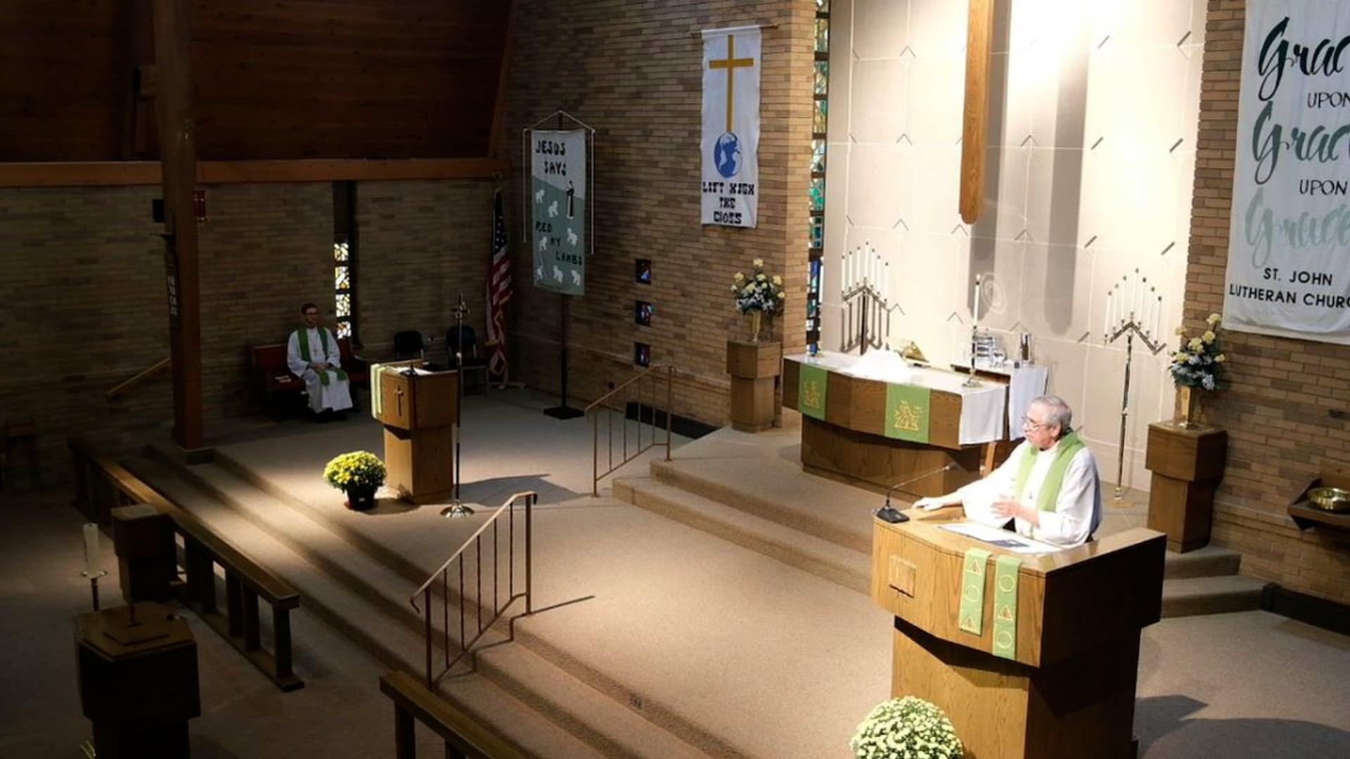 Divine Service, 18th Sunday after Pentecost