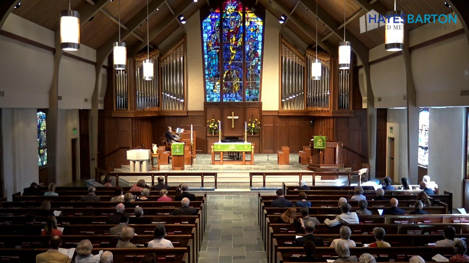 Sanctuary Worship - September 26, 2021