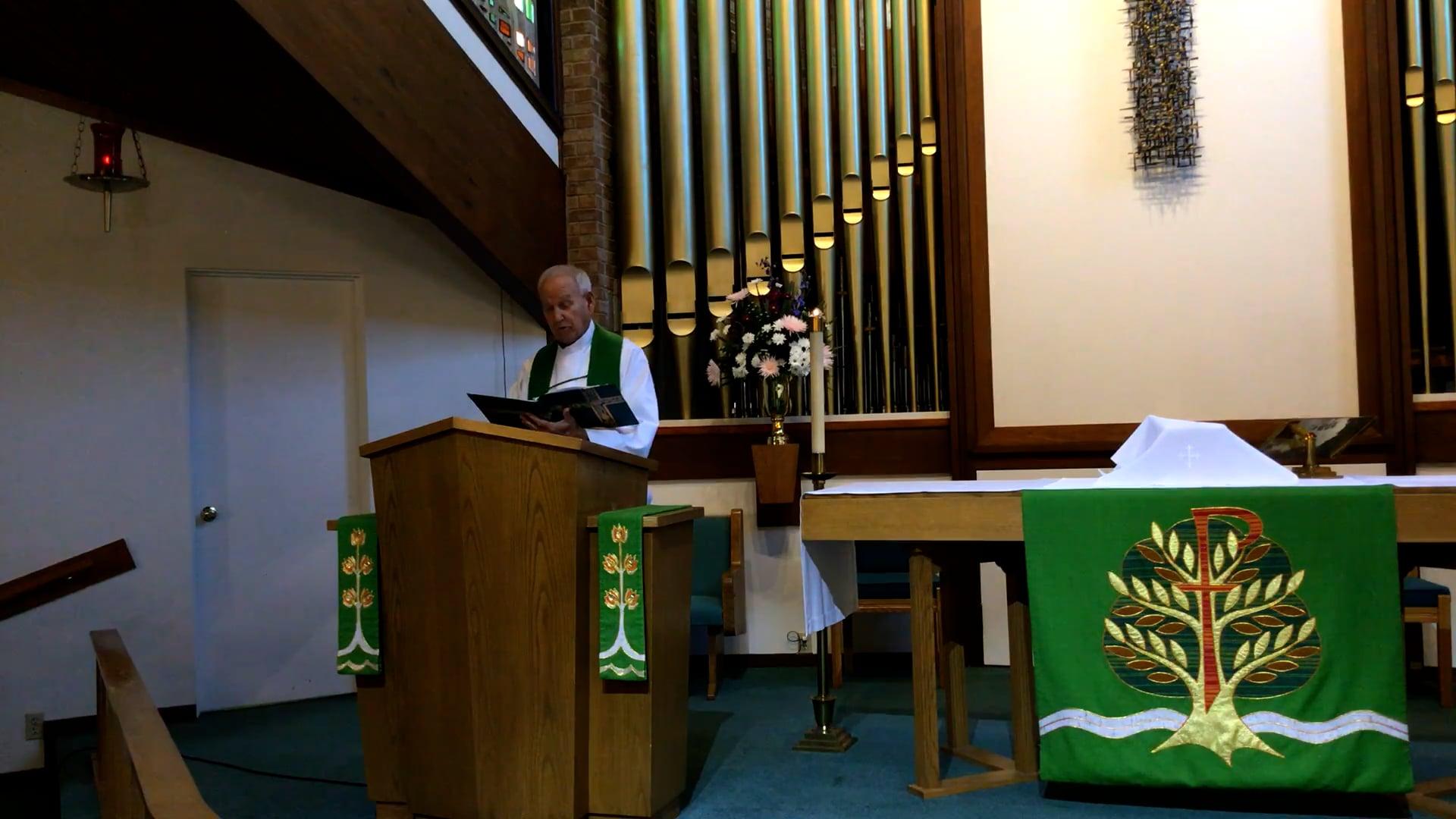 FLC Worship Service - Sept. 26, 2021