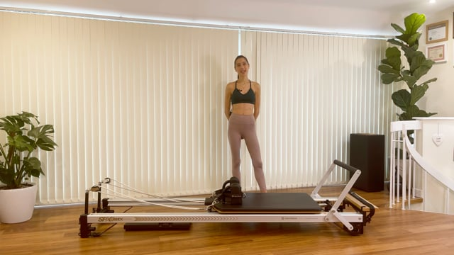 Workout with the Box and Pole