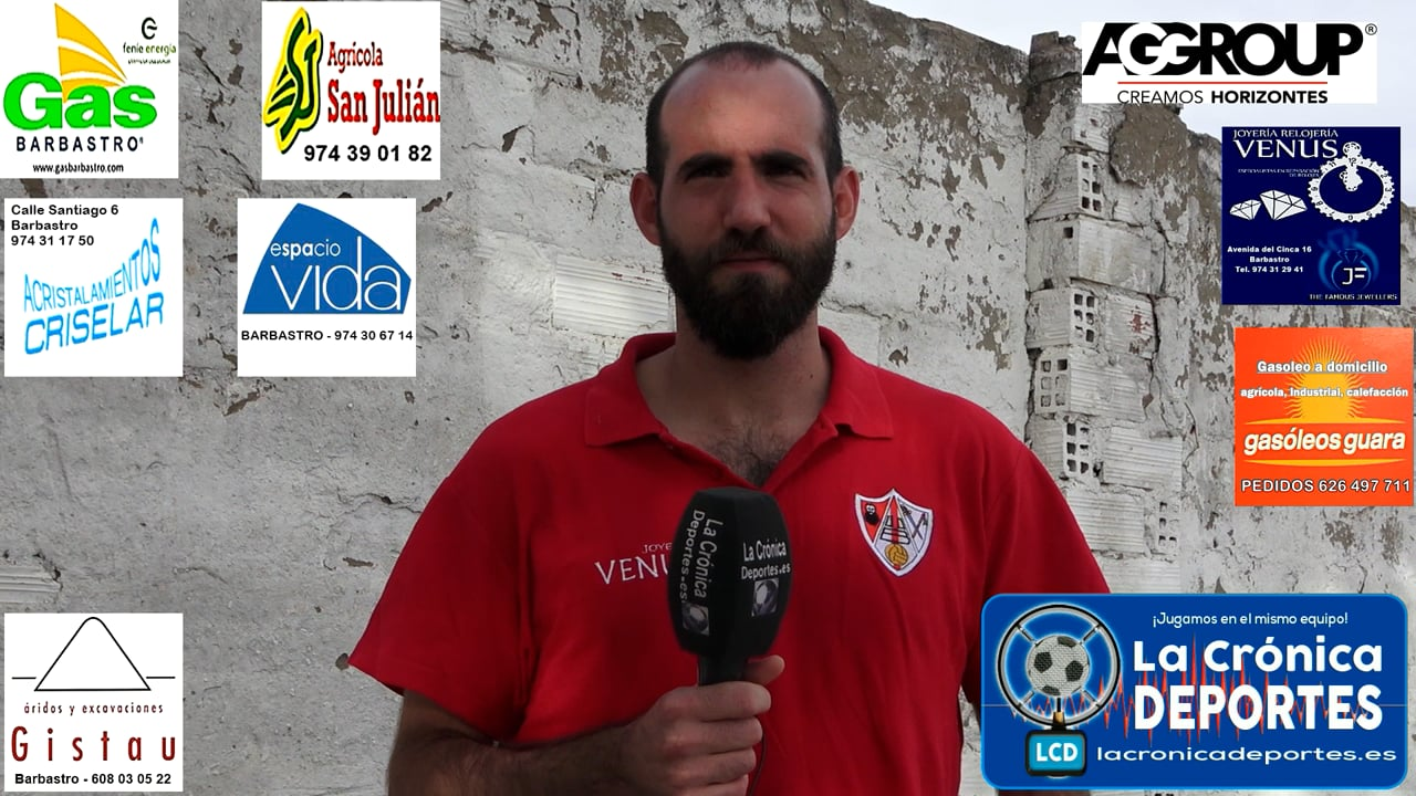 ALBERTO LISA (Jugador UDB Somontano) UDB Somontano 5-0 CD Sena / Jornada 1 / 2ª Regional Gr 2-1