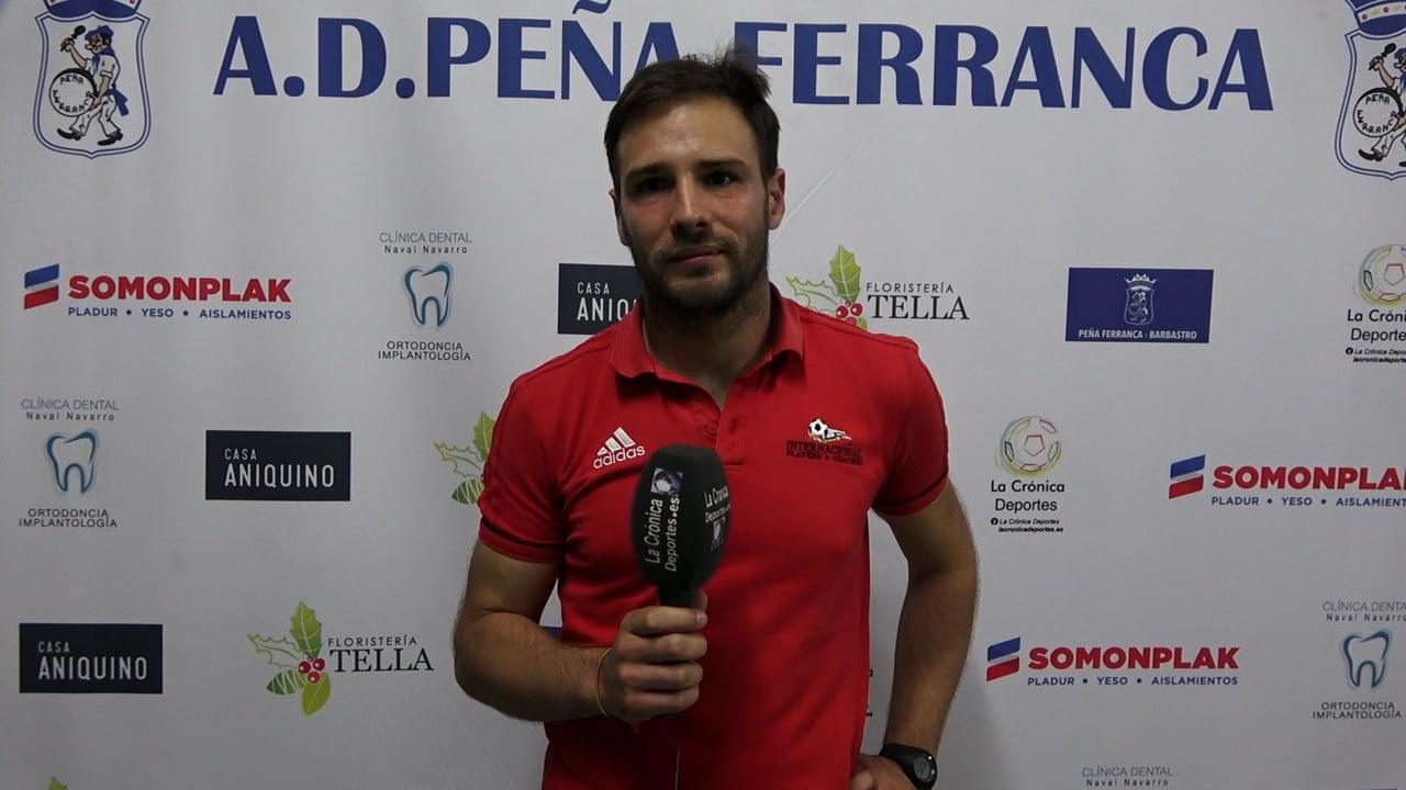 JAEL GILART (Entrenador Inter. Huesca) P. Ferranca Tella 0-3 Internacional Huesca / Jornada 3 / Preferente - Gr 1