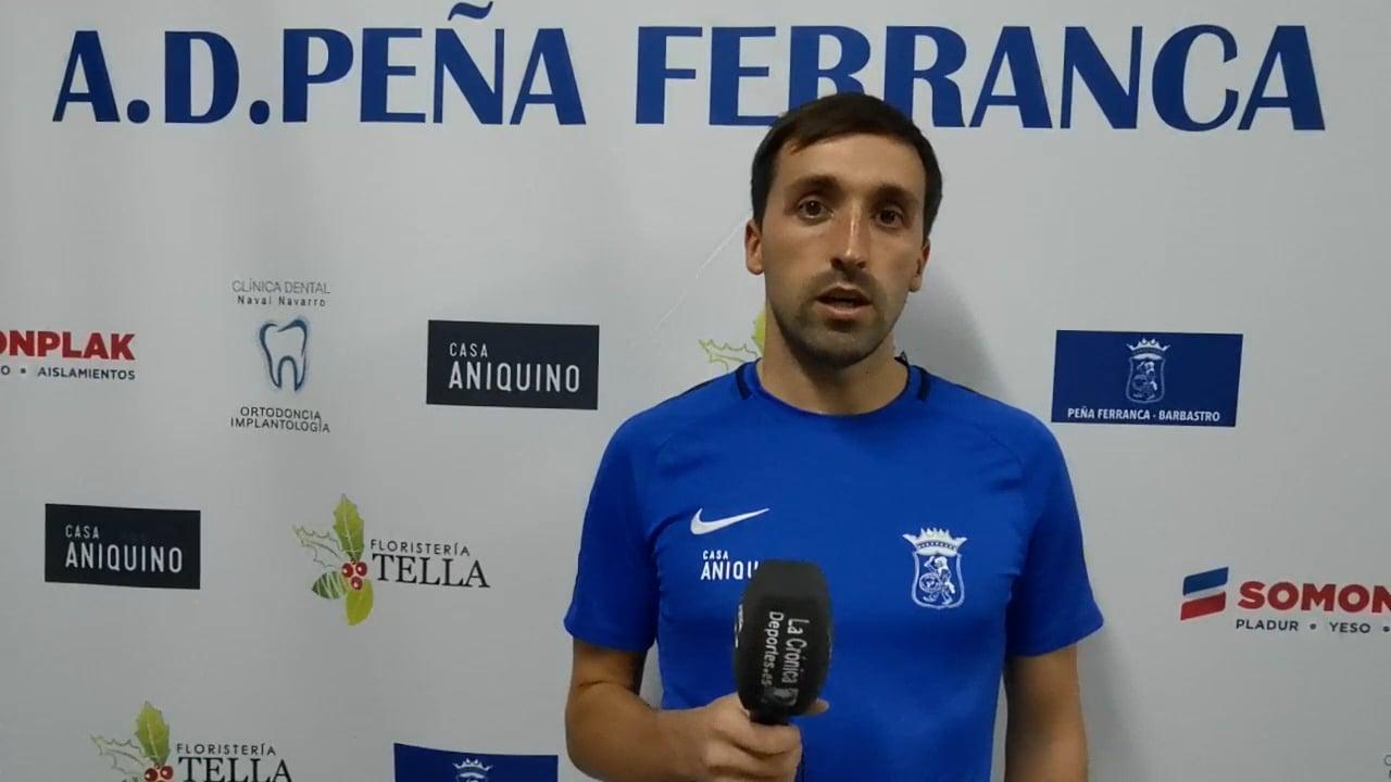 AITOR (Jugador Ferranca) P. Ferranca Tella 0-3 Internacional Huesca / Jornada 3 / Preferente - Gr 1