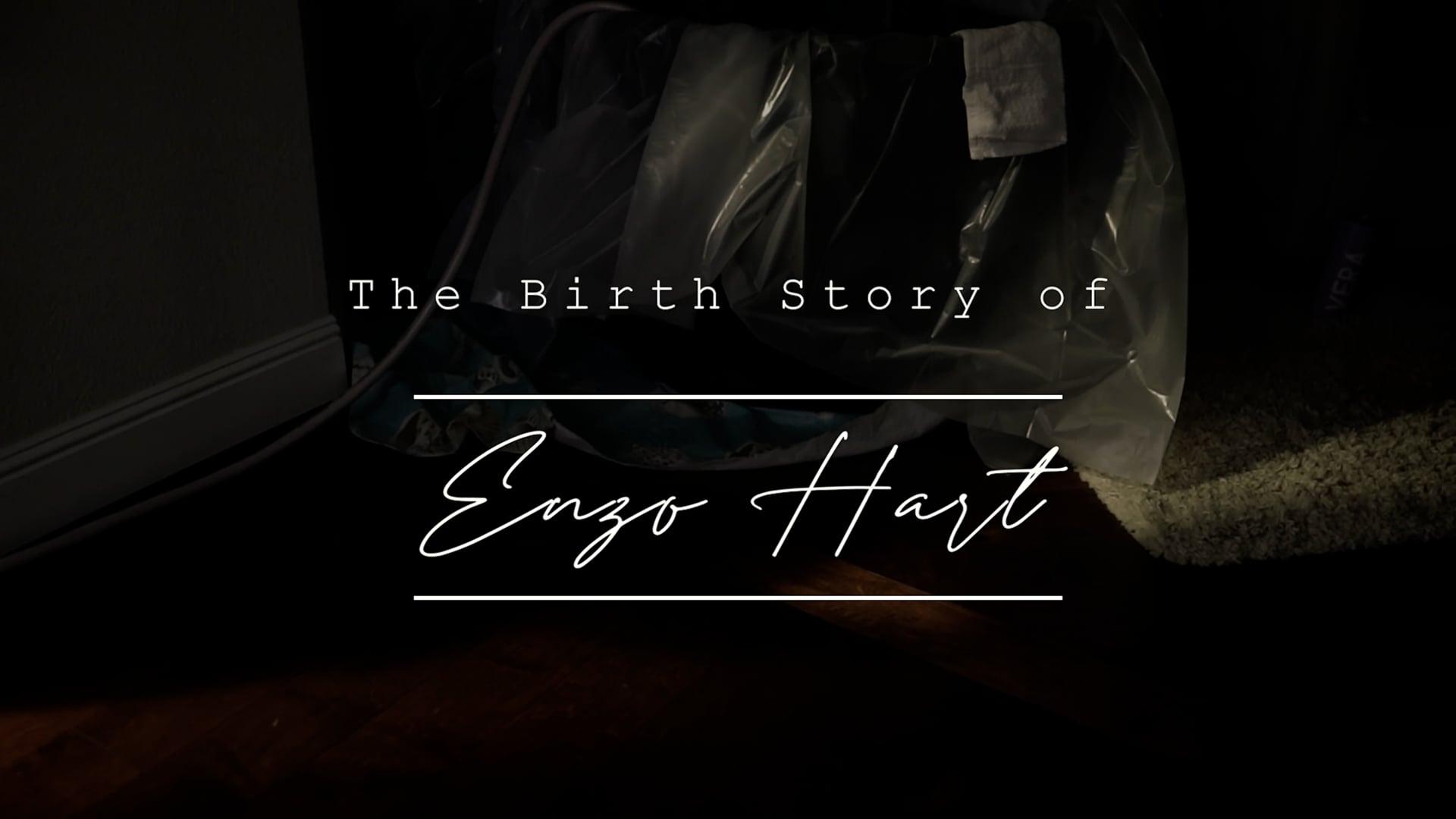 Birth Story of Enzo Hart
