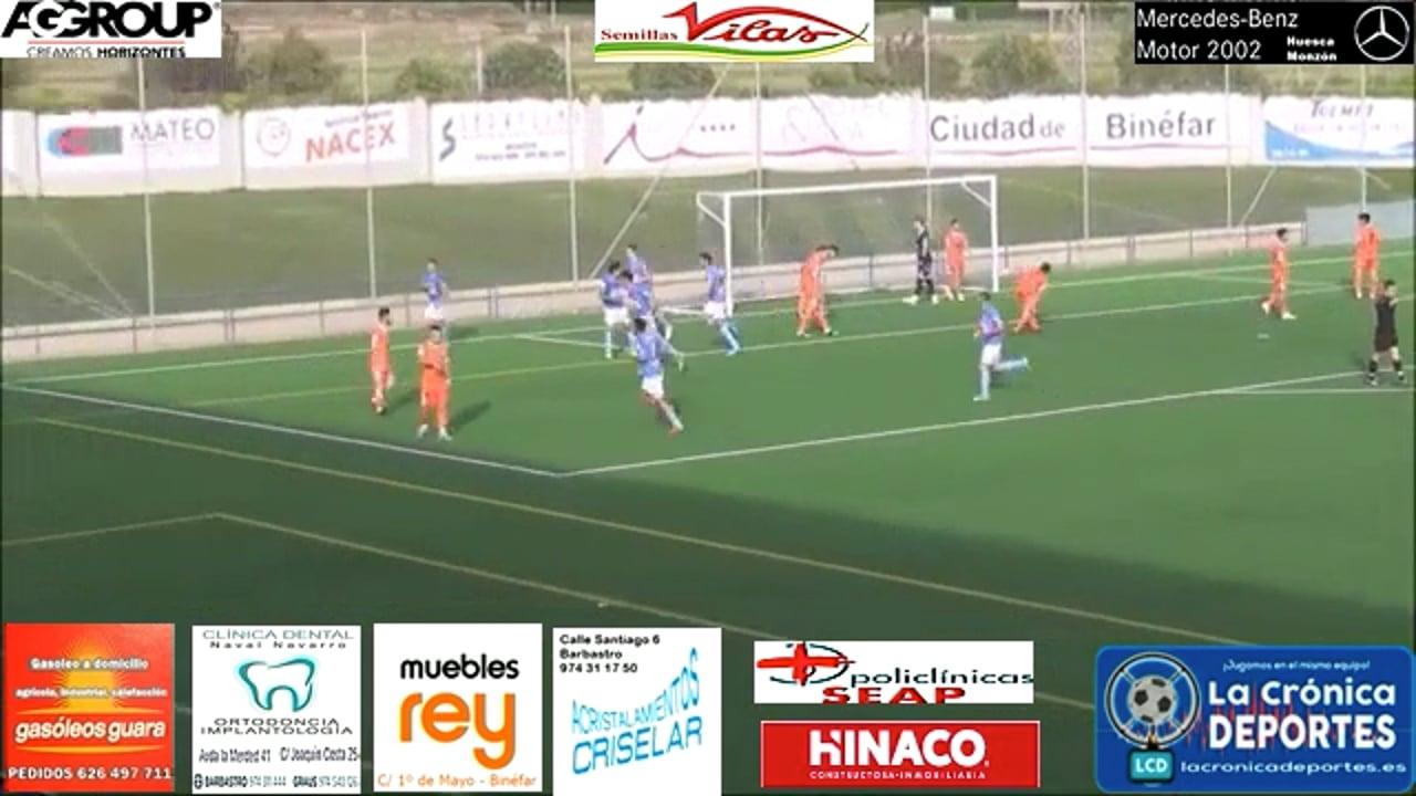 (RESUMEN y GOLES) CD Binéfar 1-1 SD Borja / Jornada 4 / 3ª División