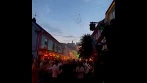 La Norvegia festeggia il ritorno alla normalità: maxi festa in strada a Stavanger