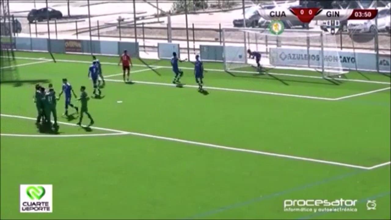 (RESUMEN y GOLES) CD Cuarte 4-0 Giner Torrero / Jornada 4 / 3ª División