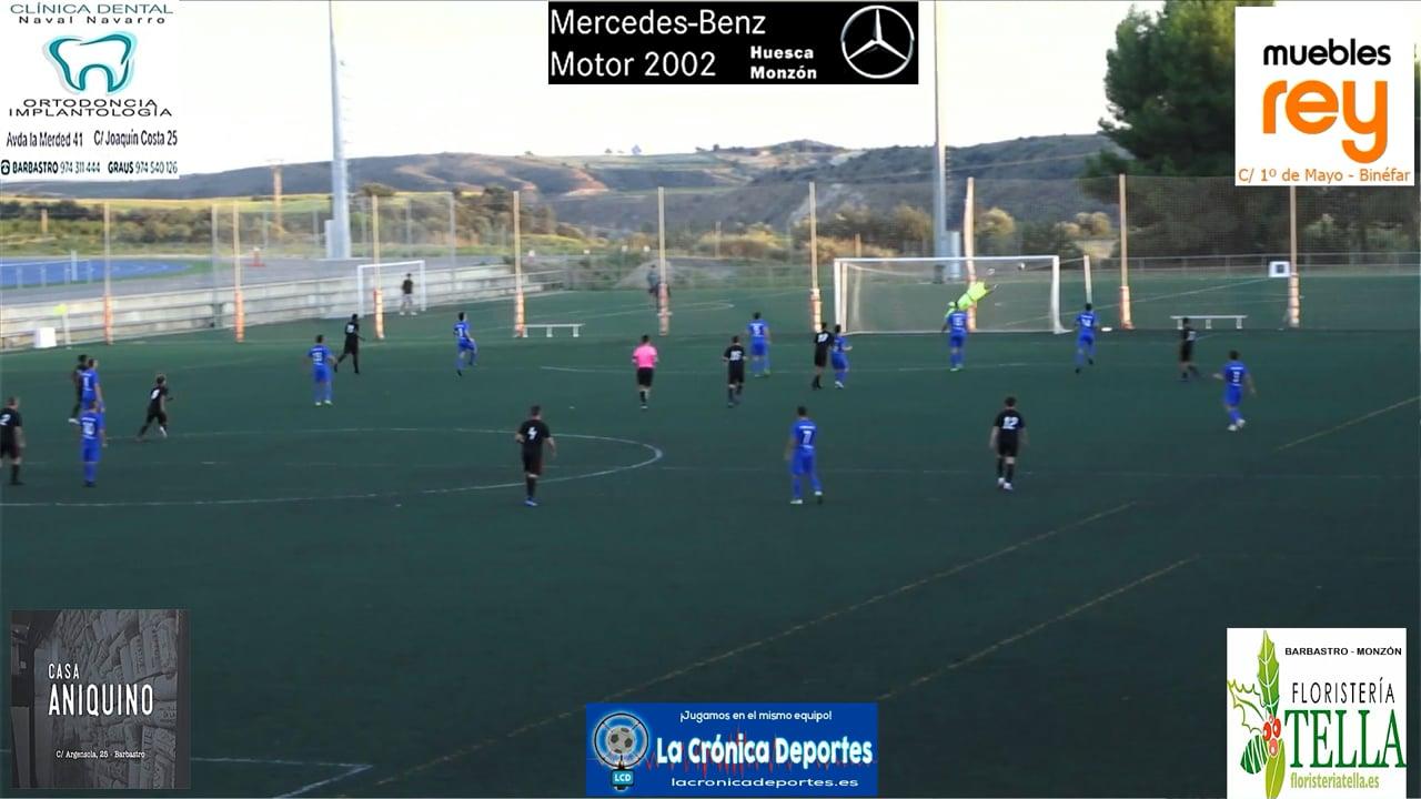 (RESUMEN y GOLES) P. Ferranca Tella 0-3 Internacional Huesca / Jornada 3 / Preferente - Gr 1