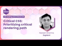 Critical CSS | Prioritizing critical rendering path | What and how to manage