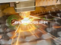 Brushed Stainless Steel - Titan Fibre Laser (1kW)