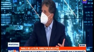 Entrevista a Pablo de la Flor en Canal 2
