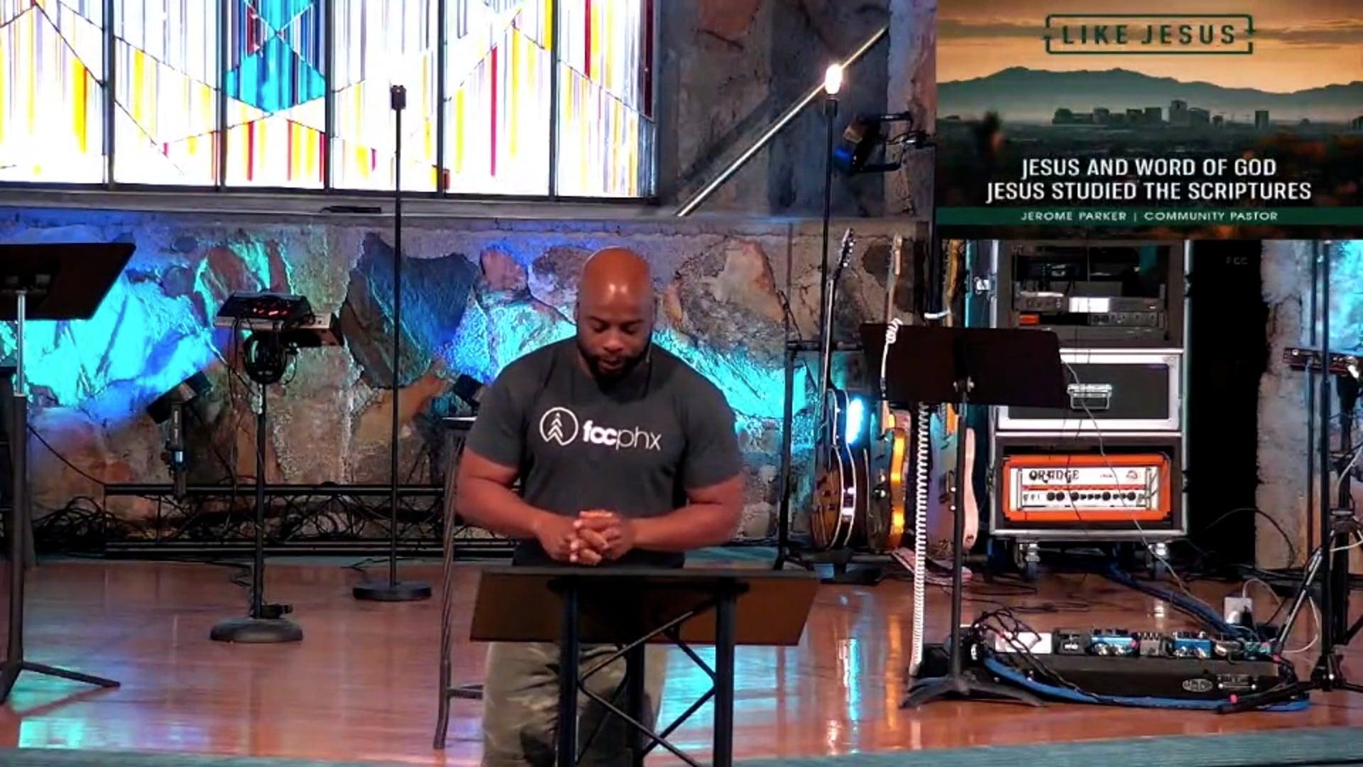 Jesus & The Word of God