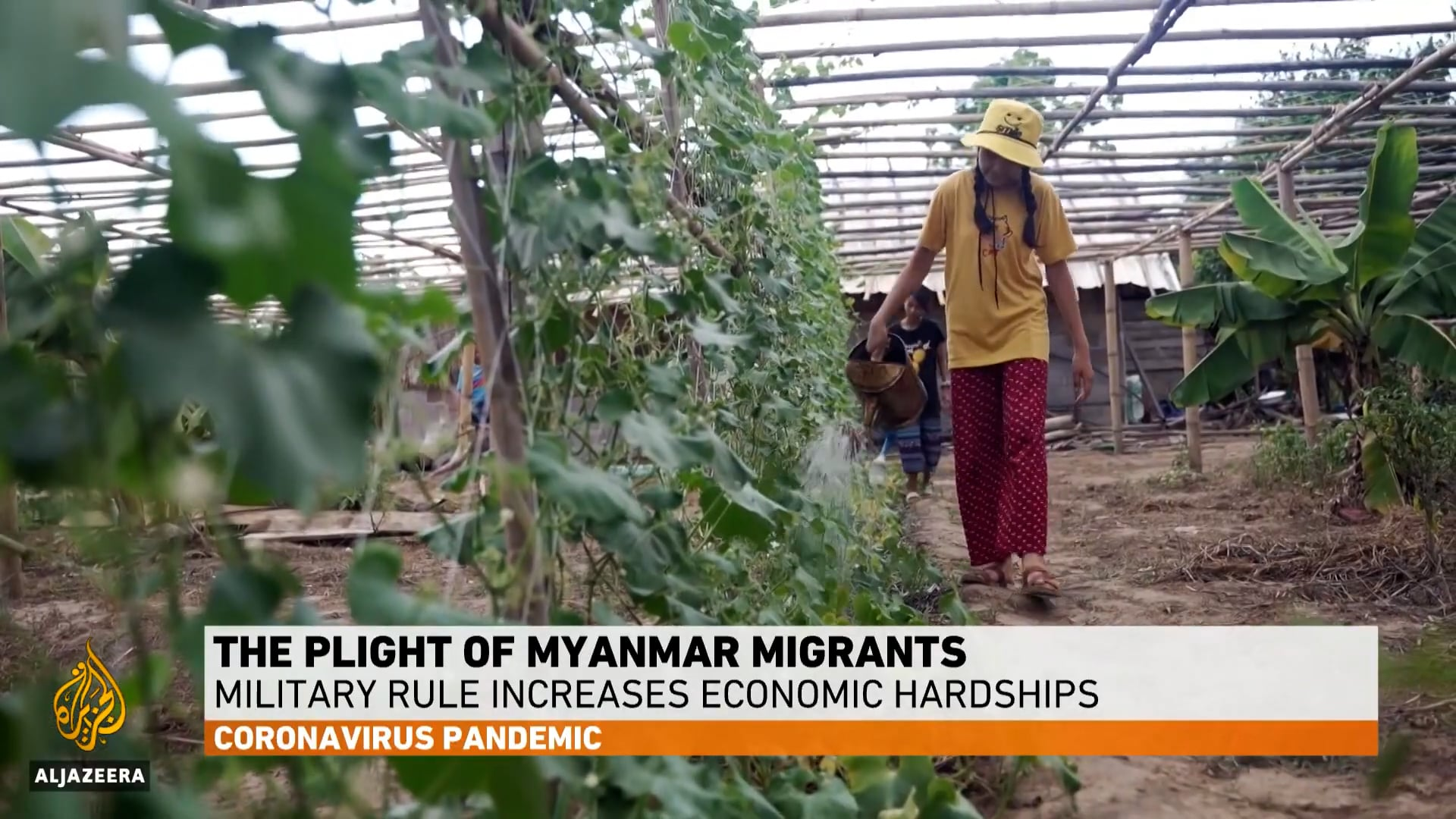 Desperate Myanmar migrant workers struggle to survive in Thailand - 2021