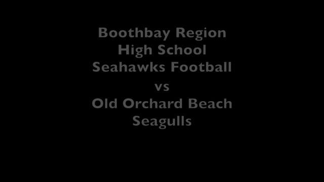 BRHS Seahawks Football Sep 27 vs Old Orchard Beach