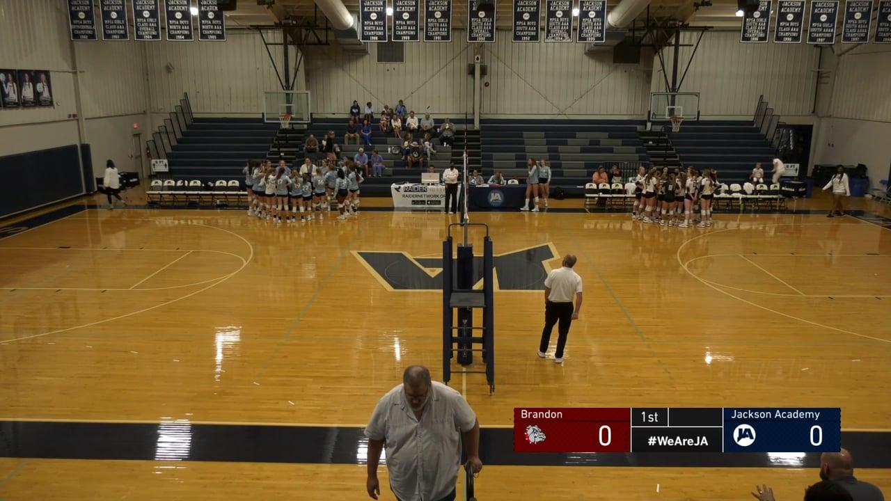 JV Volleyball vs Brandon - 09-27-21