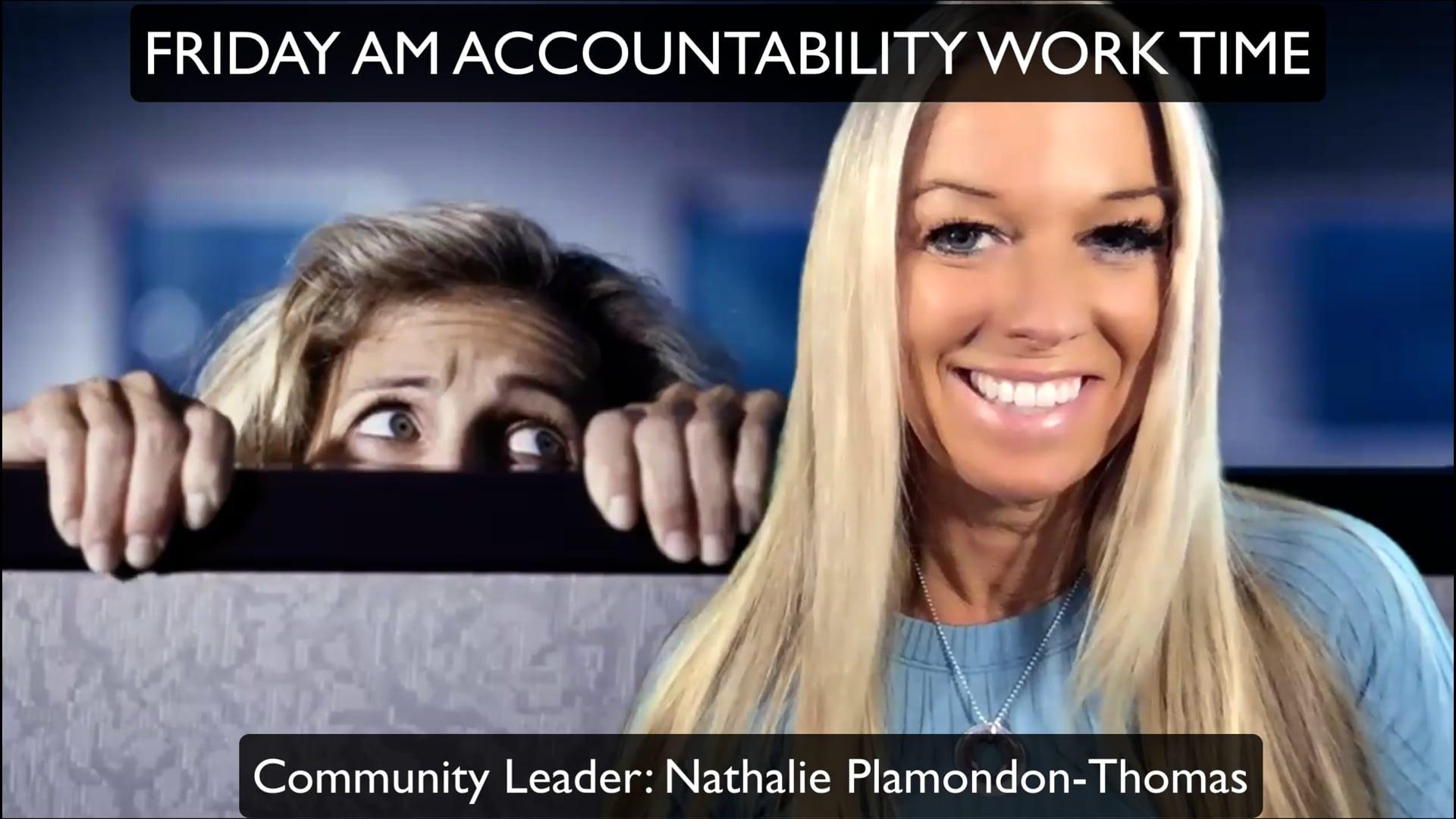 Friday Accountability WorkTime