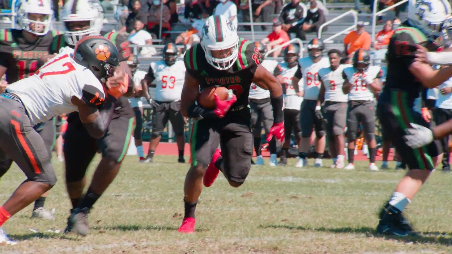 Cedar Creek vs Woodrow Wilson   Football Highlights