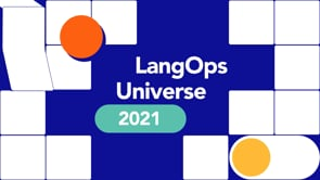 LangOps Universe 2021 / Day Of