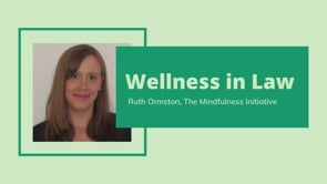 Wellness & Law: How mindfulness can help lawyers with work stress