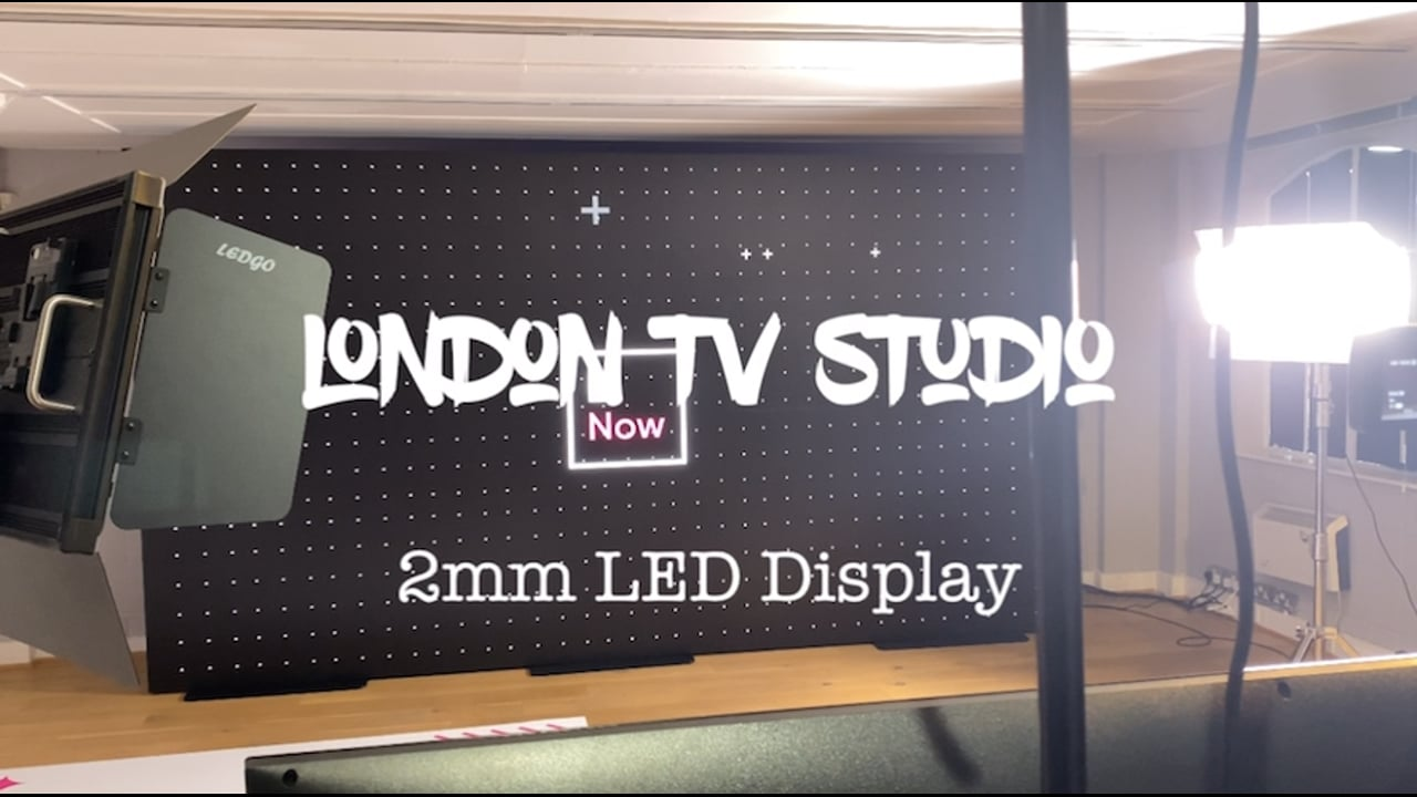 TV Studio LED Backdrop Screen