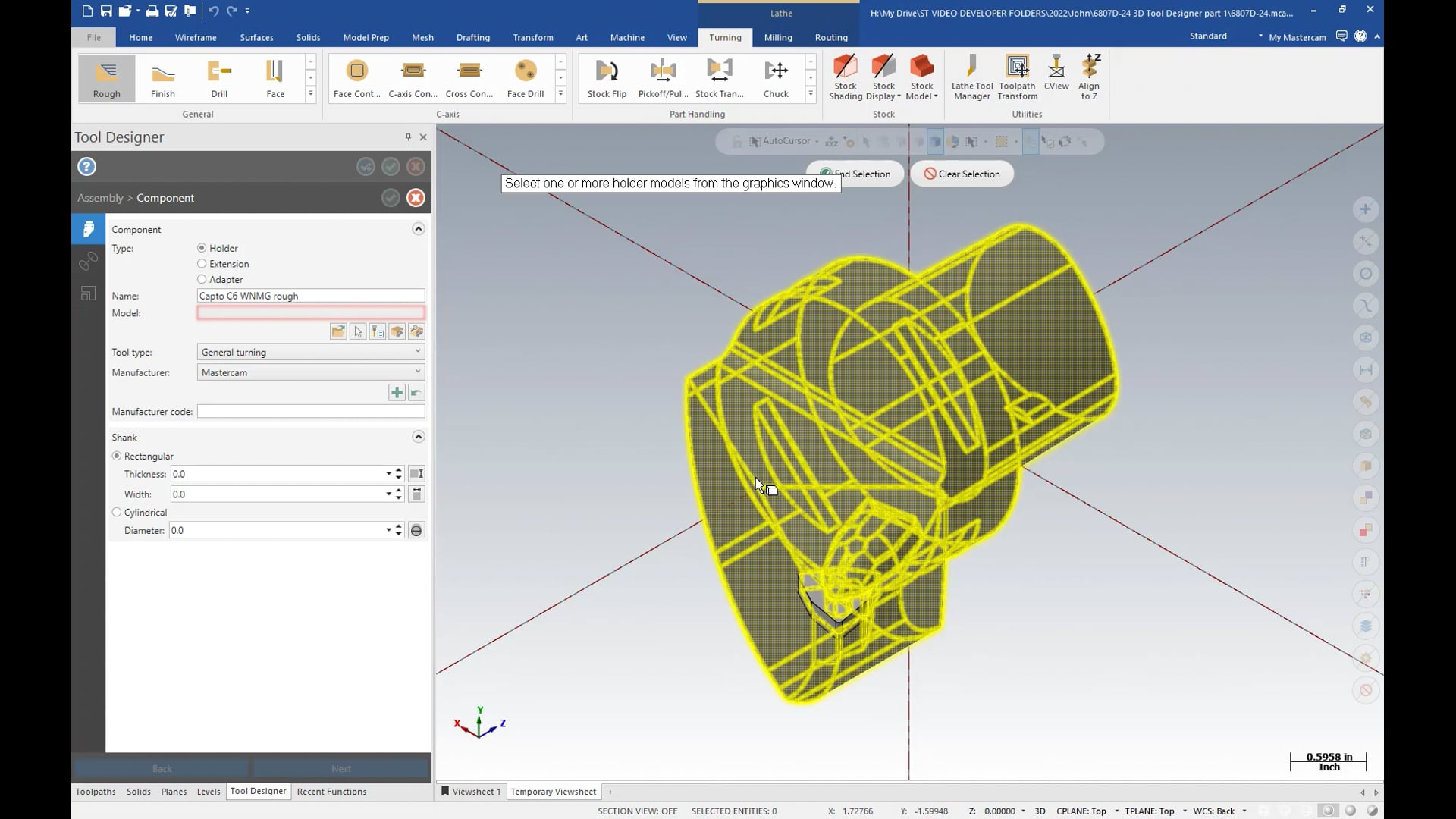 3D Tool Designer - Holders