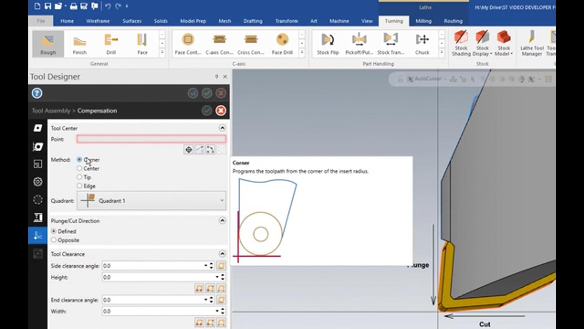 3D Tool Designer - Inserts