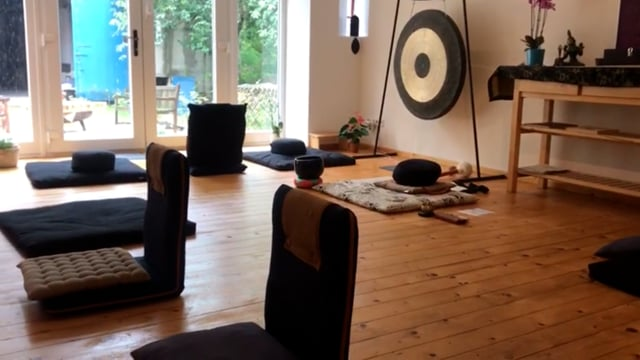 Die ausgleichende Ruhe im Eido-Ji Meditationsraum