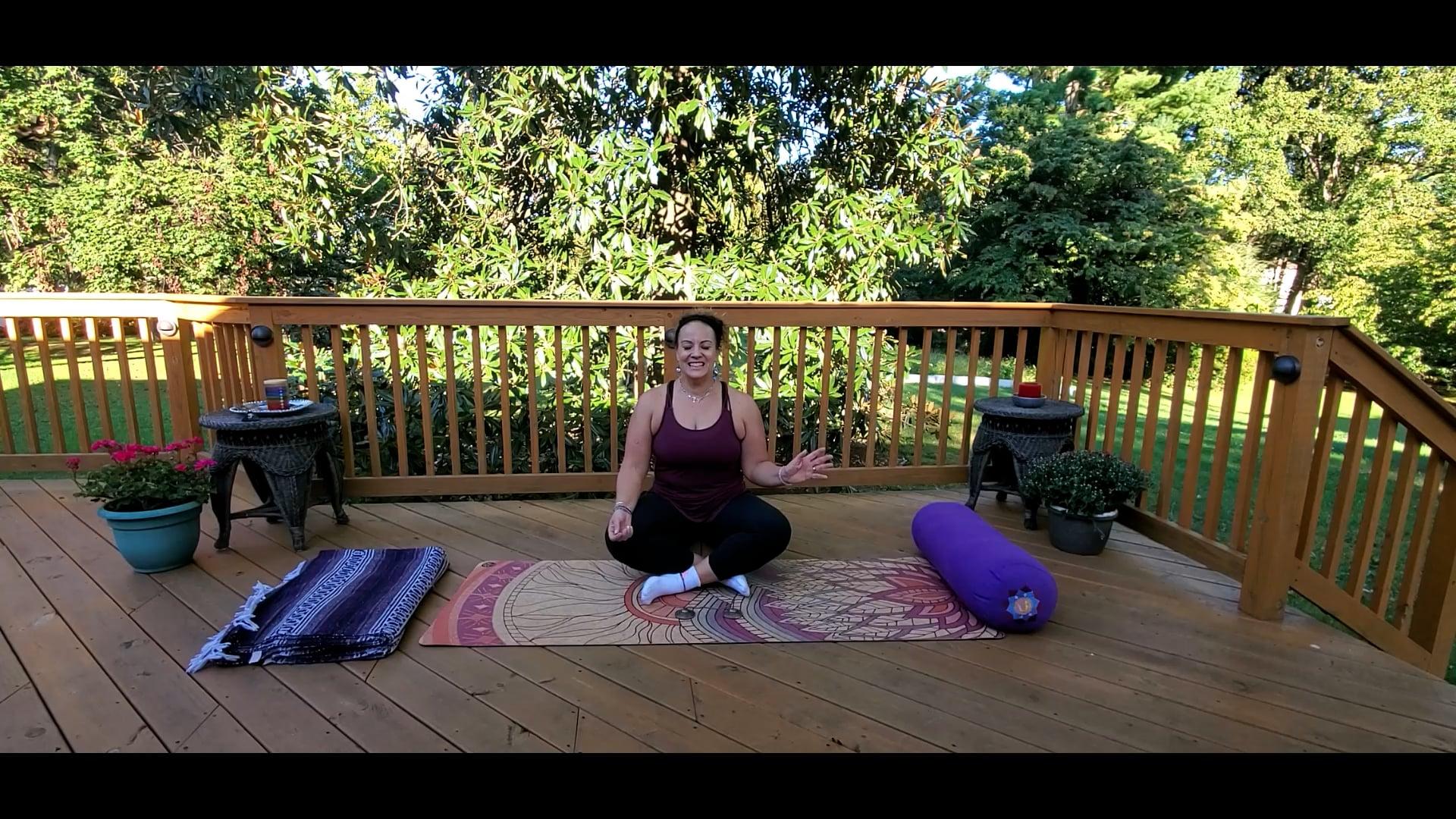 Yin Yoga with Morgan - OCTOBER
