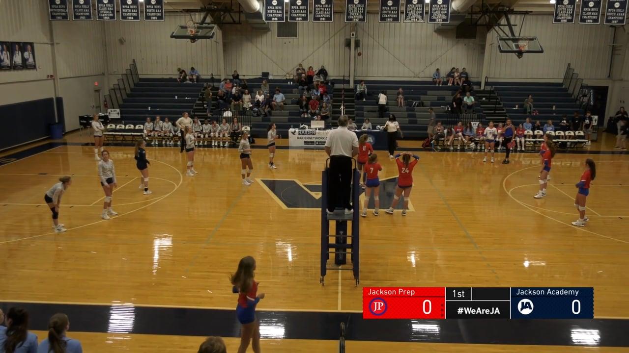JV Volleyball vs Jackson Prep - 09-29-21