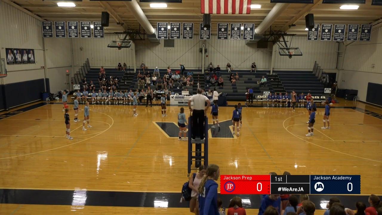 Middle School A-Team Volleyball vs Jackson Prep - 09-29-21