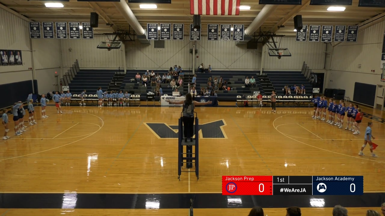 Middle School B-Team Volleyball vs Jackson Prep - 09-29-21