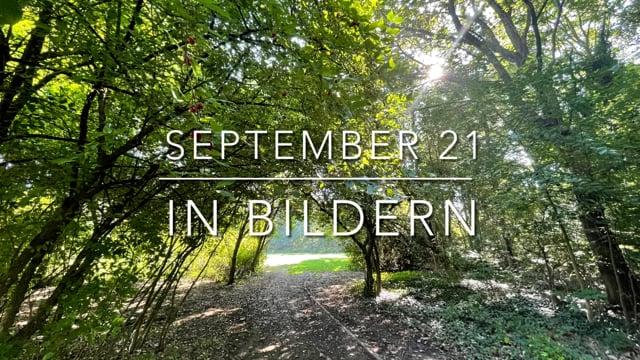 September 21 in Bildern - auf Achse