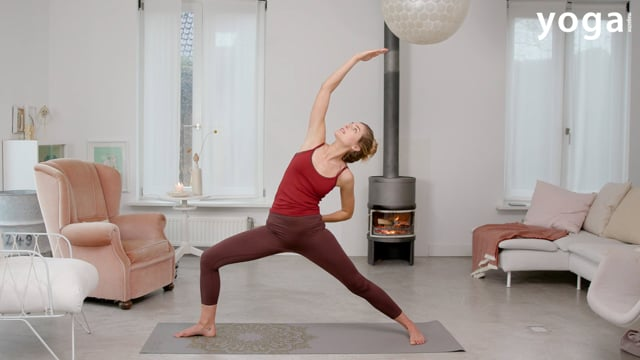 Yoga practice voor meer energie