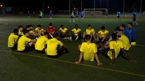 El primer equip de futbol preparat per a l'inici de lliga