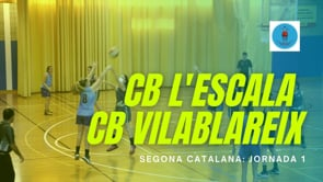 Resum CB l'Escala 63 - 48 CB Vilablareix