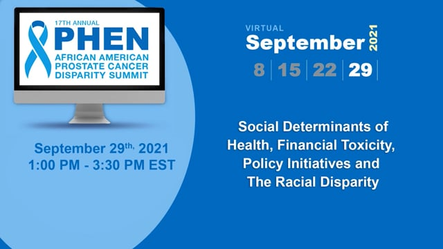 Social Determinants of Health, Financial Toxicity, Policy Initiatives and The Racial Disparity