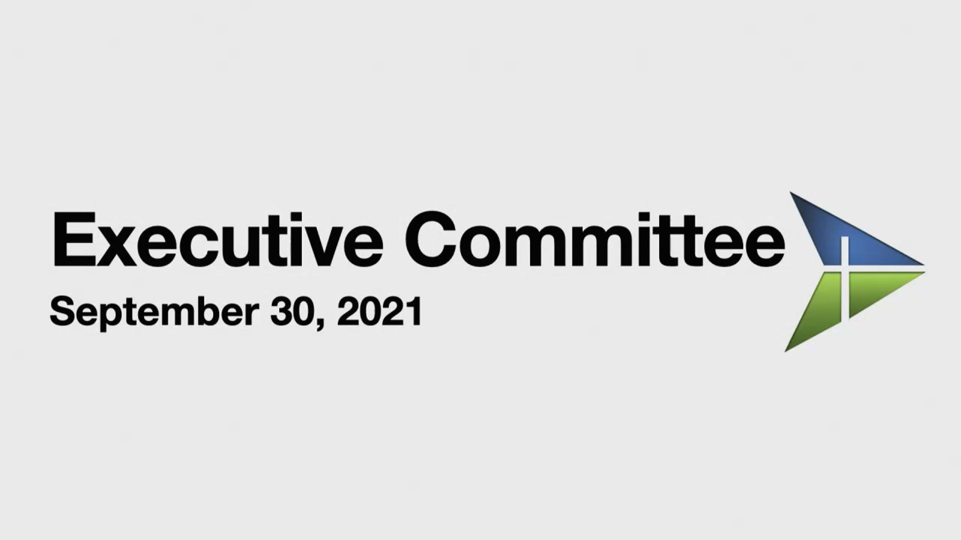 WMBA Executive Committee - Sept 30, 2021