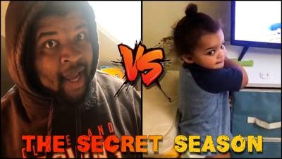 Z-Bo vs Dad! Flam's Single Parent Test! (Secret Season S2 Ep.11)